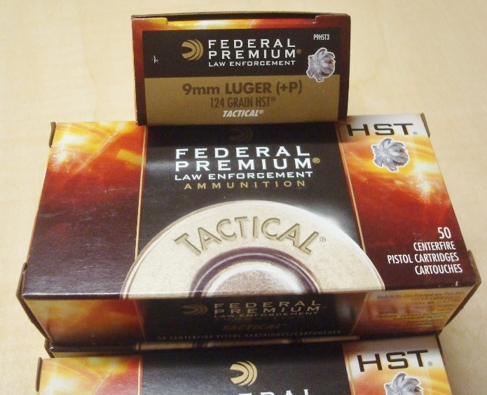 Federal Hst 9mm 124gr