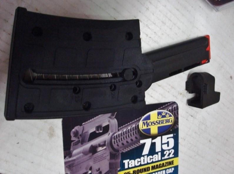 Mossberg - 715T  22 LR Tactical - 25 Round Magazine